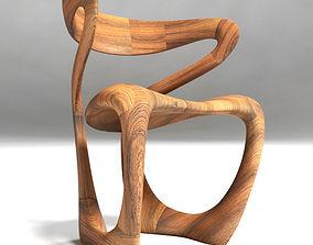 S Chair Tom Vaughan s Design 3D model