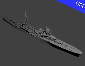 Italian Duca dAosta Class Cruiser 3D printable model