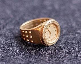 Watch Ring 3D printable model