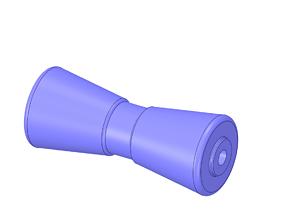 3D print model 8 Inch Boat Trailer Keel Roller 3 25 Inch 3