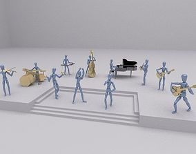 3D model Toys music group