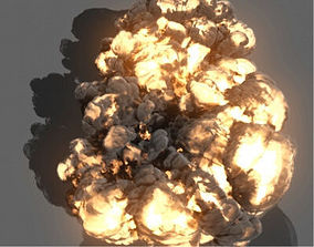 Maya Fluids Effects Assets Bundle animated game-ready