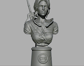 Ciri bust 3D printable model