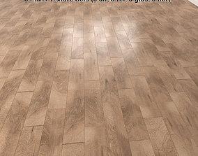 3D model Wood Floor Planks Pack 1
