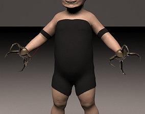 3D model Babybot X-1 aka Keith