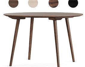 3D asset Scandinavian round table
