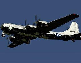 NACA B-29 X plane mother ship 3D model