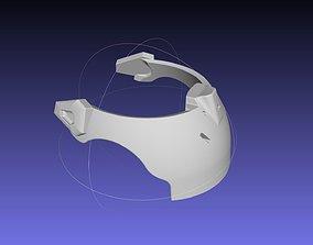 Overwatch Brigitte Armor Neckpiece 3D print model