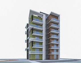 Condominium 01 3D asset
