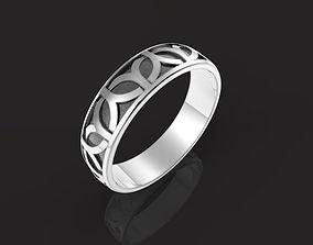 Celtic ornament ring 3D print model