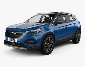 Opel Grandland X 2017 3D