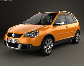 Volkswagen Cross Polo 2006 3D model