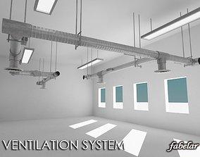 Ventilation system 3D