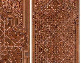 Arabic ornament- Decorative wall 3D model