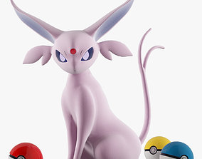 3D Toy Pokemon Espeon