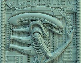 Panno Gigers alien ver02 3D printable model