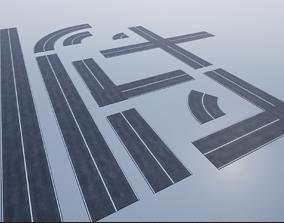 3D model Modular Road Pack PBR
