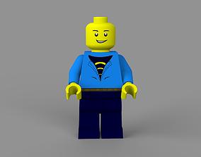 LEGO man 3D model realtime