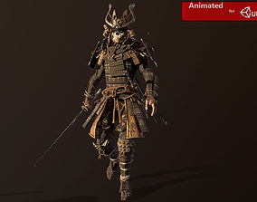 Samurai Remastered 3D asset