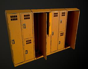 3D asset modular lockers