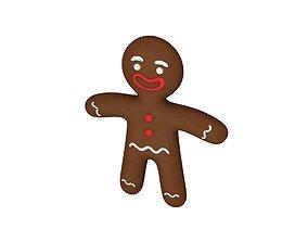 3D Gingerbread item