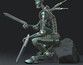 Robot-mercenary 3D