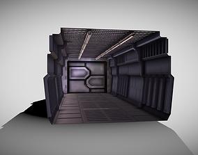 3D model Tile-able Sci-Fi Corridor