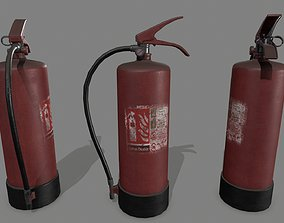 fire extinguisher 3D model VR / AR ready tube
