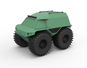 Diecast model THOR Ultimate ATV Scale 1 to 24 vehicle
