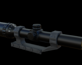 Scope 1-6X Zoom 3D asset