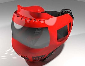 Paintball Facemask - Type 2 3D