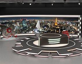 TV Studio News 3D