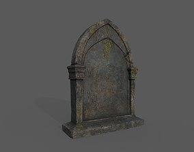 3D model Tombstones Bloodborne Style