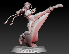 Street Fighter Cammy 3D print model