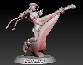 Street Fighter Cammy 3D print model