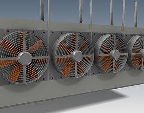 Heavy Duty Evaporator 3D model