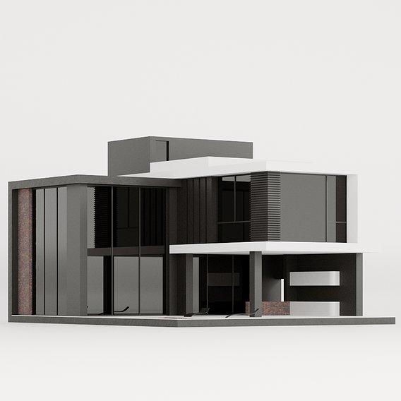 Modern home in a hi-tech way