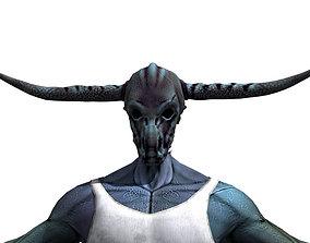 3D model Warrior monster