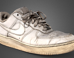 3D model Nike Air Force One White Quick scan