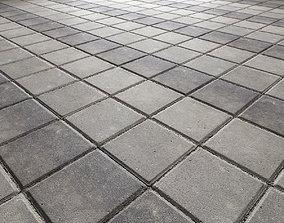 3D model Paving slabs Floor 012