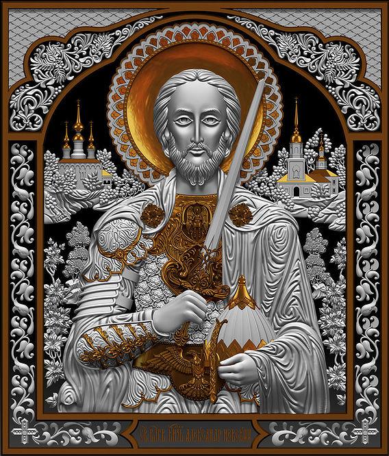 Icon Alexander Nevsky