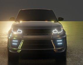 2016 Custom Land Rover Range Rover Sport 3D