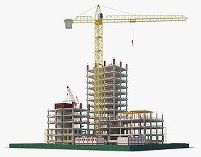 3D model element Building Construction site