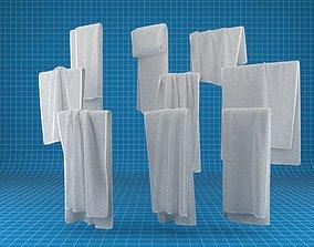 sink-bathroom 3D Towel Collection