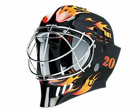 Bauer hockey helmet 3D model