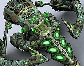 3DRT - Alien Motherships VR / AR ready