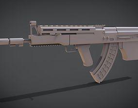 MW2 Vepr 3D print model