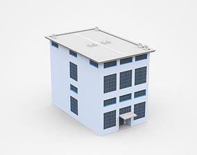 3D Semi-storey Industrial Building