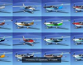 3D 17 Cessna 177 Cardinals