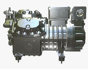 Ice Compressor Hardsurface industrial Machine 3D